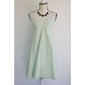 Asos Design Cami Babydoll Swing Dress Mint Green